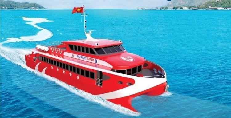tàu cao tốc côn đảo