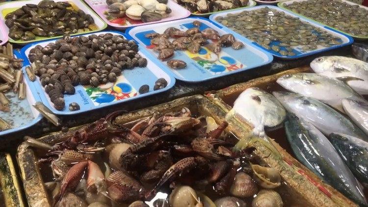 hải sản tại chợ đêm vũng tàu