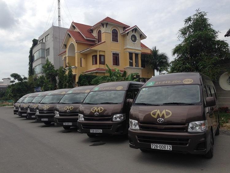 Xe Limousine Minh Dũng